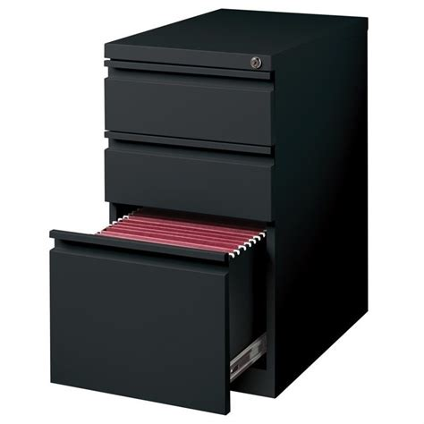 3 drawer black file cabinet 3 drawer mobile file cabinet file in black 18575
