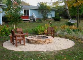 Fire Pit Patio Ideas by Fire Pit Diy