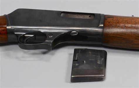 lot 719 model 1907 winchester 351 semi automatic rifle