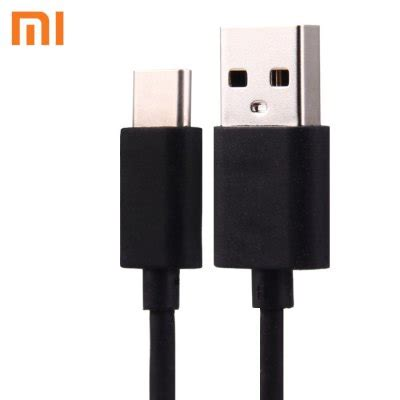 Charger Xiaomi Original Android Tipe C Tc Xiaomi Model Android original xiaomi fast charging type c charge and data transfer cable for xiaomi 4c black
