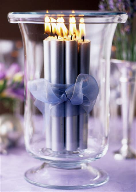 candle decorating ideas with ribbon candles for s day interior design ideas