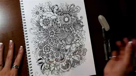 why doodle flowers circles lines dots flowers artsy doodle