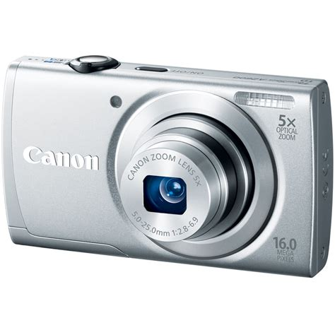Kamera Canon Powershot A2600 canon powershot a2600 digital silver 8158b001 b h photo