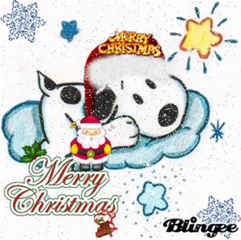 imagenes navideñas animadas de snoopy snoopy en navidad fotograf 237 a 79893693 blingee com