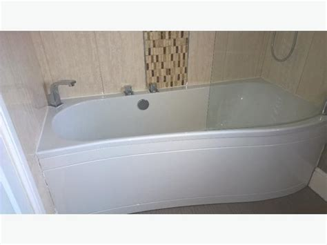 bathtub side panel bath side panel taps and shower screen bargain price