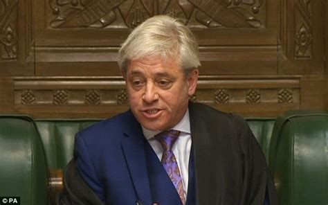 bercow must quit for breaching impartiality