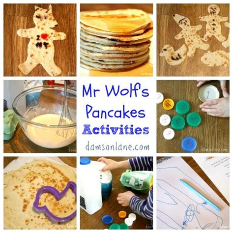 Mr Monday Day 113 by Mr Wolf S Pancakes Activities From Damsonlane Abc