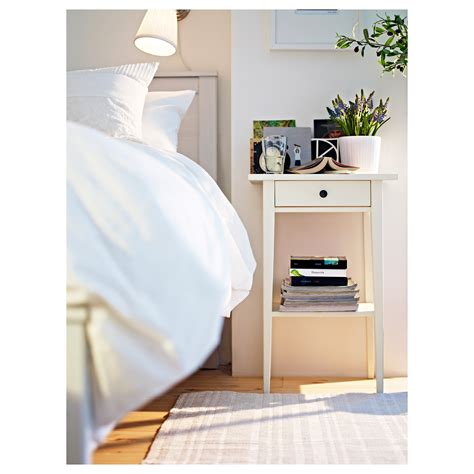 ikea side table bedroom hemnes bedside table white 46x35 cm ikea