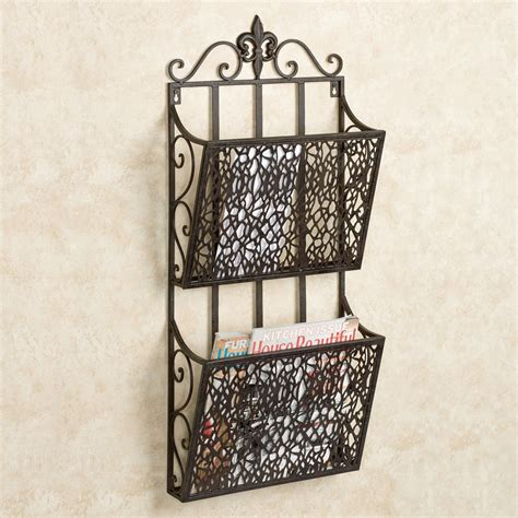 Wall Rack by Fleur De Lis Wall Magazine Rack