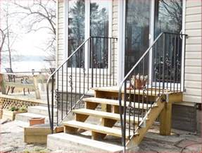 marvelous railings for outdoor stairs 11 wrought iron outdoor step railings handrails