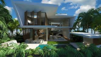 Modern Mansion Beach House Architecture by Modern Beach House Chris Clout Design