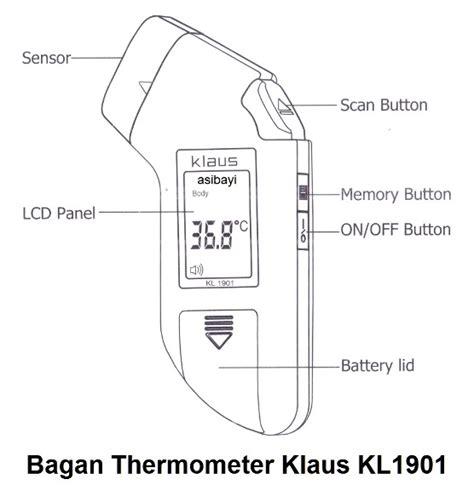 Termometer Digital Kening jual termometer bayi tokoherbalspm