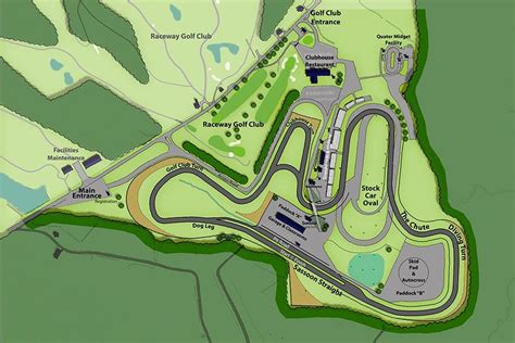 thompson speedway motorsports park driving track  scda