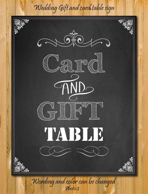 Gift Card Sign - 9 best images of free printable wedding card table sign printable cards and gift