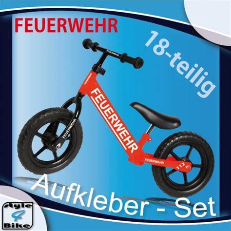 Feuerwehr Aufkleber Fahrrad by Fahrrad Aufkleber Feuerwehr Bike Sticker Style4bike Ebay