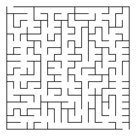 6 best images of big printable mazes free printable maze generation algorithm wikipedia