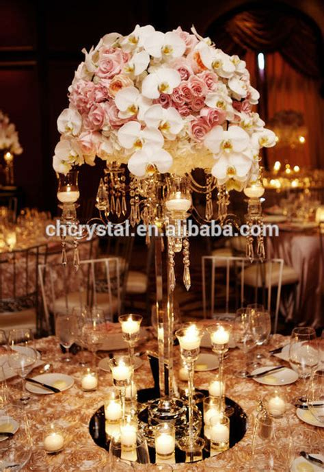 mh 1435 flower bowl top crystal candelabras crystals table