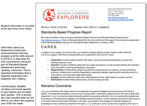 sle progress report for elementary students student report sle 28 images recommendation report sle