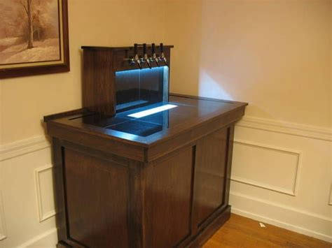 Small Home Bar With Kegerator Home Bar Plans With Kegerator Woodworking Projects Plans