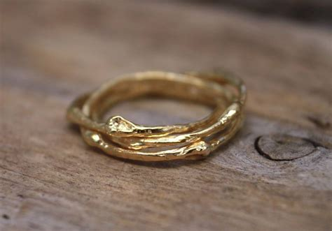 russian wedding ring 18ct gold by walshe jewellery