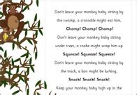 new year monkey poem five garden snails poem eyfs ks1 poetry free early