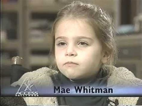 film one fine day soundtrack mae whitman 1996 interview age 7 youtube