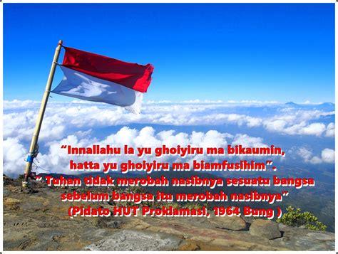 kata kata mutiara menyambut kemerdekaan ri  agustus