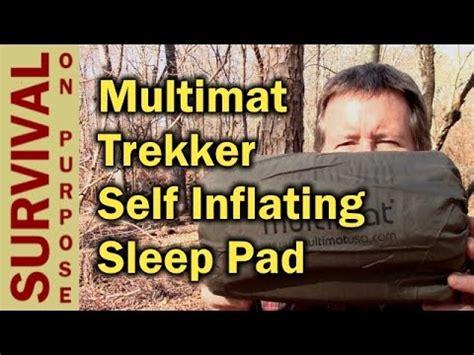 Trekker Self Inflating Sleeping Mat by Multimat Trekker Self Inflating Sleeping Mat Outdoor
