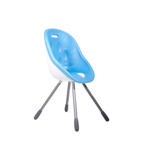 phil teds poppy high chair blue