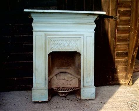 stripping a cast iron fireplace