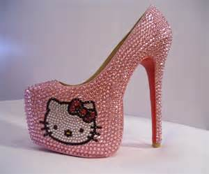 Hello kitty shoes high heels for kids shoes collection fashion style