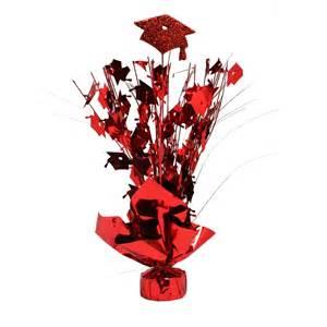 graduation foil centerpiece