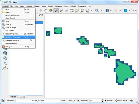 cara membuat layout qgis automating map creation with print composer atlas qgis