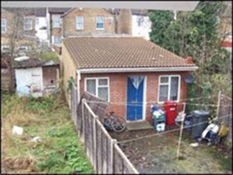 Slough Sheds by Migrants Live In Slough Sheds