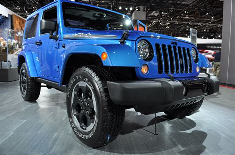 jeep polar edition 2014 north american international auto show photos the