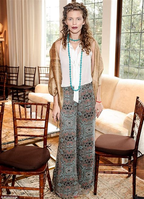 boho style for older women annalynne mccord attends women s rights event in bohemian