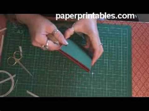 how to make a book card how to make a pop up box book card tutorial