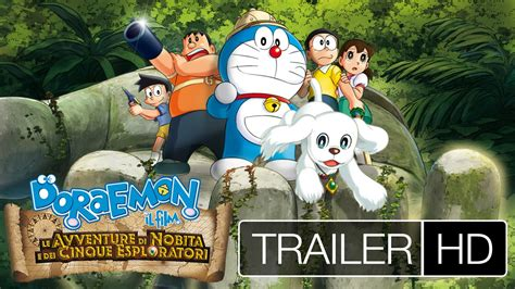 film doraemon di xxi doraemon il nuovo film al cinema youtube