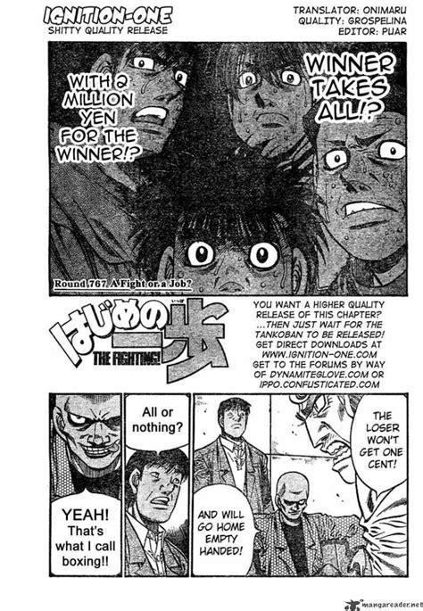 Komik Fight Ippo 2 hajime no ippo 767 read hajime no ippo chapter 767 page 1 mangadeep