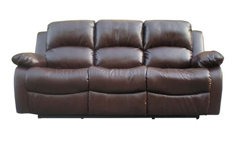 pebble brown bonded leather modern sofa loveseat set