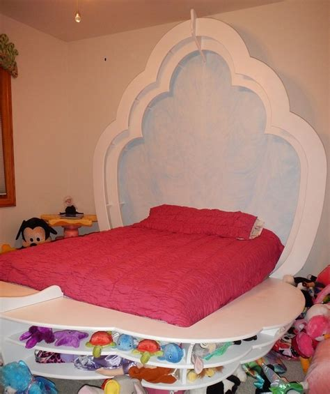 clam shell bed hand crafted ocean themed child s room with clam shell bed