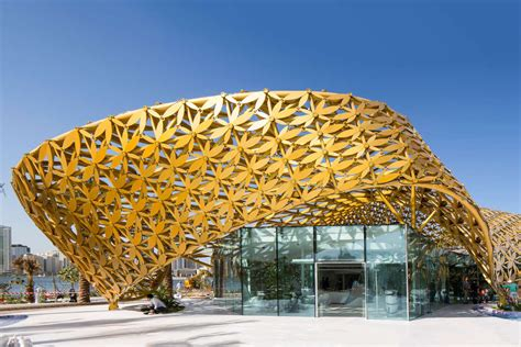 butterfly pavilion architect magazine deluxe sharjah