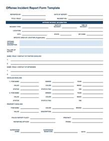 incident summary report template incident report template beepmunk