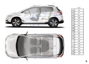 Peugeot 2008 Size Dimensions Int 233 Rieures Peugeot 2008 Photo Officielle 2