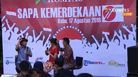 indonesia spesial hari quot sapa indonesia spesial kemerdekaan quot meriahkan hut ri