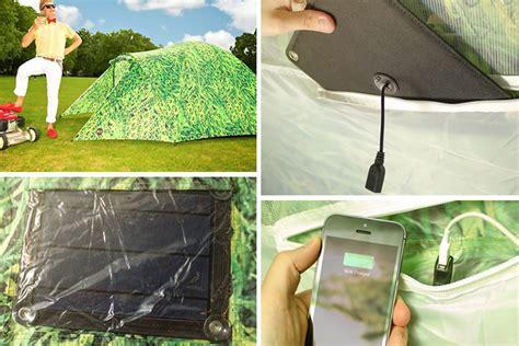 tenda solare la tenda ad energia solare dottorgadget