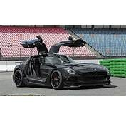 Mercedes Benz SLS AMG Black Series Upgraded By Inden Design