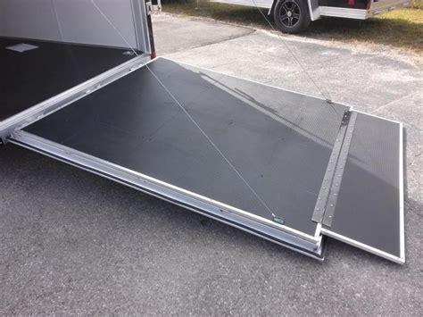 Utility Trailer Flooring by Wauv7x1622 Cargo 7x16 Silver Sport Aluminum Enclosed