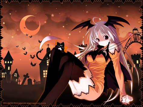 imagenes halloween chica anime los especiales de halloween en el anime japones