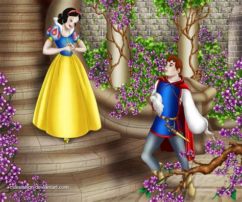 snow white and prince charming by mareishon on deviantart